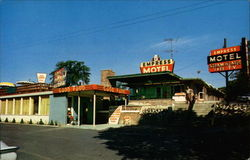 Empress Motel and Restaurant Postcard