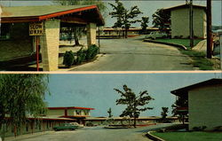 Two Views of Anthony Island Motel