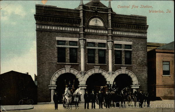 Central Fire Station Waterloo Iowa