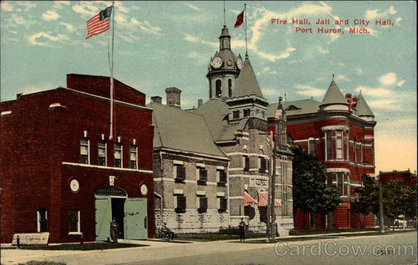 Fire Hall, Jail, and City Hall Port Huron Michigan