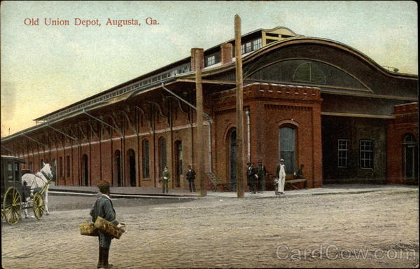 Old Union Depot Augusta Georgia