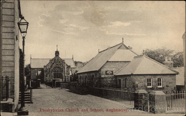 Presbyterian Church and School Aughnacloy Northern Ireland