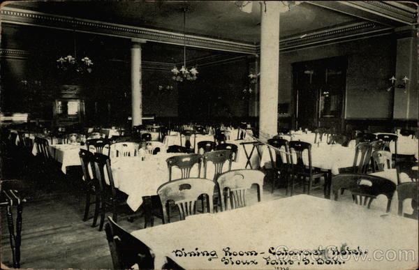 Dining Room - Cataract Hotel Sioux Falls South Dakota