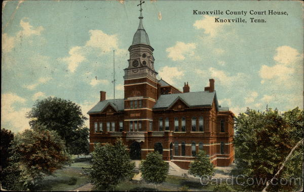 Knoxville County Court House Tennessee