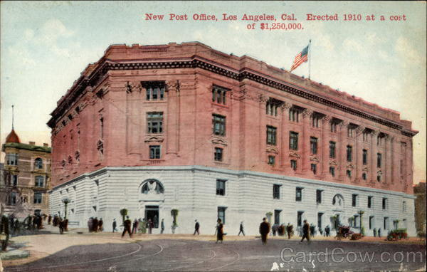 New Post Office Los angeles California