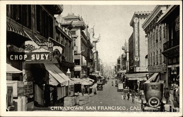 Chinatown San Francisco California