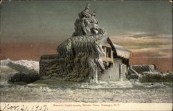 Beacon Light-house - Winter View
