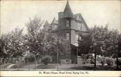 Dr. Week's House on Broad Street
