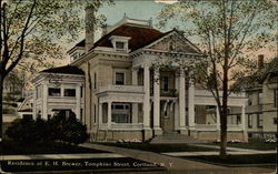Residence of E. H. Brewer, Tompkins Street