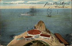Sugar Loaf and Casino Postcard