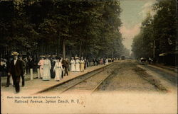 Railroad Avenue, Sylvan Beach, N.Y