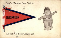 Dere's Chust as Gute Fish in Herington