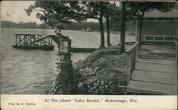 At The Island, Lake Beulah