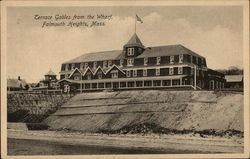 Terrace Gables from the Wharf Postcard