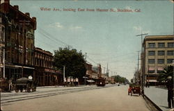 Weber Ave., looking East from Hunter St