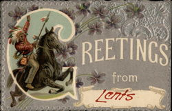 Greetings From Lents Postcard