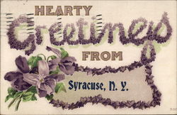 Greetings from Syracuse Postcard