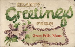Hearty Greetings from Great Falls, Mont