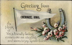 Greetings from Cherokee, Iowa