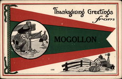 Thanksgiving Greetings from Mogollon