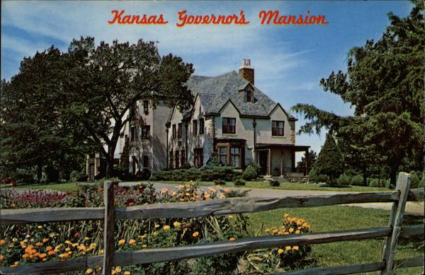 Kansas Governor's Mansion Topeka