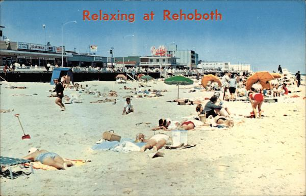 Relaxing at Rehoboth Rehoboth Beach Delaware
