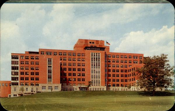 Veterans Administraton Hospital, exterior front view Wilmington Delaware
