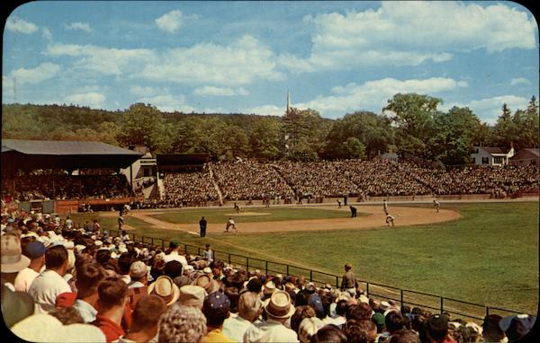 Doubleday Field, Hall of Fame game Cooperstown New York