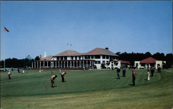 Pinehurst Golf Club North Carolina