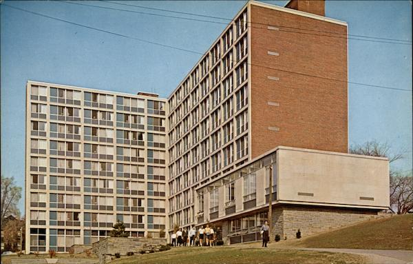 Booth Hall Dormitory for Men at Syracuse University New York