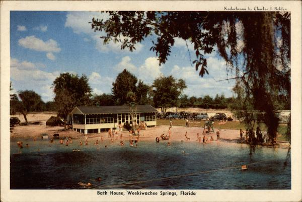 Bath House Weekiwachee Springs Florida