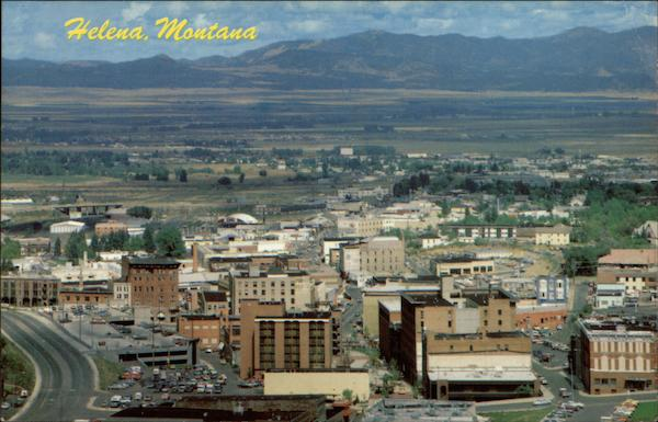 Downtown Skyline from the South Helena Montana