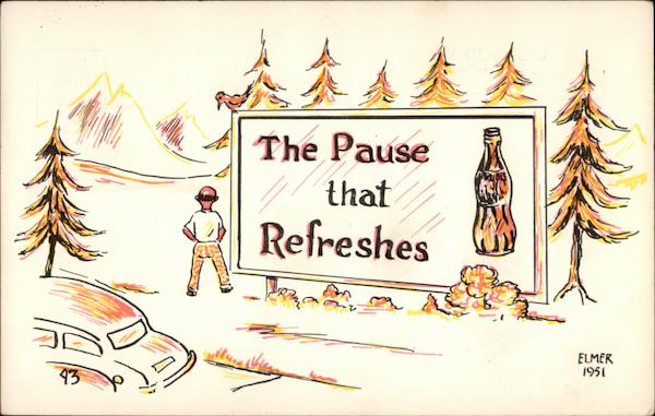 The Pause that Refreshes Comic, Funny