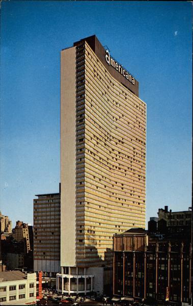 hotel americana new york ny ForAmericana Hotel Nyc