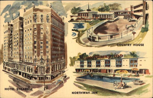 Hotel Syracuse--Country House--Northway Inn New York
