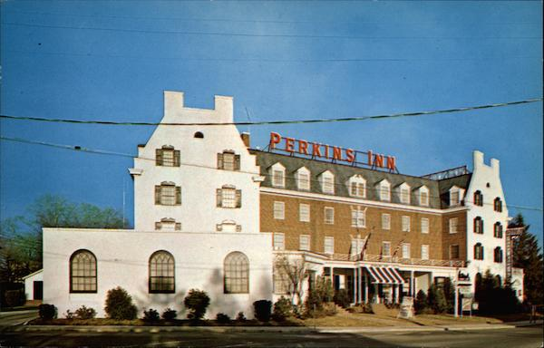 Front View of the Perkins Inn Long Island New York