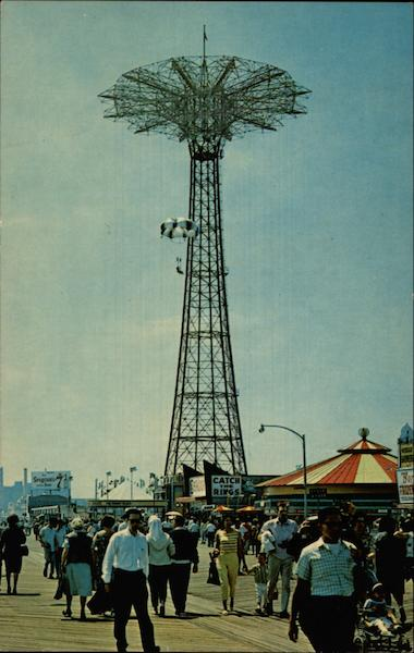 Coney Island Parachute Jump New York