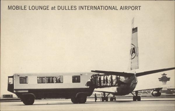 Mobile Lounge At Dulles International Airport Washington Dc