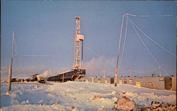 Alaskan Black Gold Oil Wells