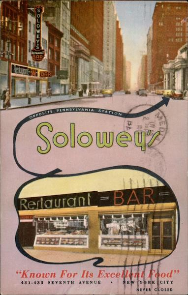 Solowey's Restaurant and Bar New York