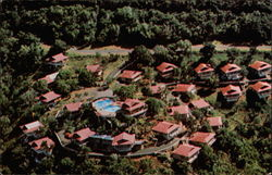 An Aerial View of Shibui Hotel Postcard