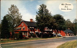 Old Farms Inn, from road Postcard