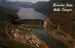 Brownlee Dam at Hells Canyon