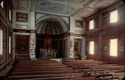 Interior of Cataldo Mission