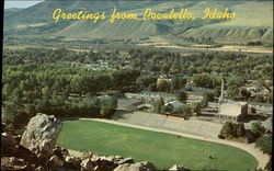 Greetings from Pocatello, Idaho (View from Idaho University)