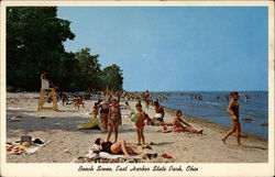 Beach Scene, East Harbor State Park, Ohio