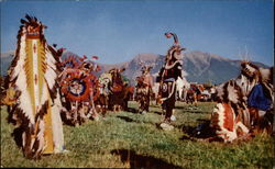 Indian Celebration Dance in Montana