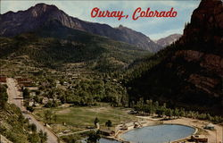 Ouray, Colorado and swimming pool