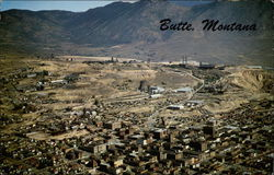 Aerial View of Butte, Montana