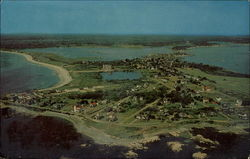 Airview of Biddeford Pool